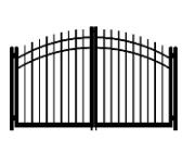 drive cap convex double gate