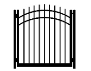 drive cap convex single gate