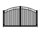f dog run standard convex double gate