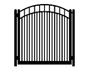 f dog run standard convex single gate