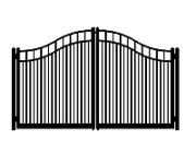 f dog run standard double roll convex double gate