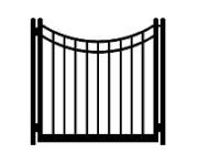 f signature concave single gate
